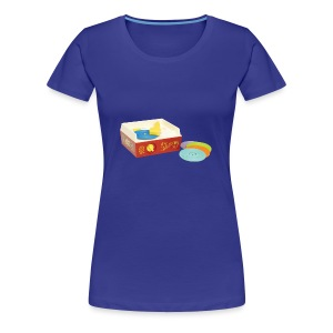 Toy Record Player - Women's Premium T-Shirt
