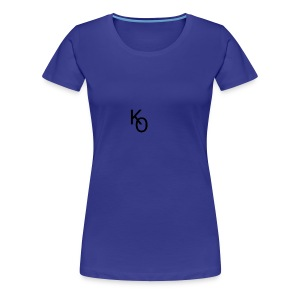 K Over The O - Women's Premium T-Shirt