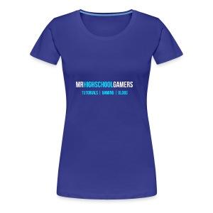 Logo and Sub-heading - Women's Premium T-Shirt