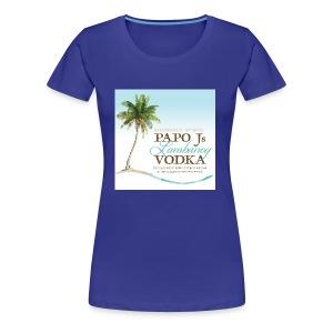 PapoJs Labels Logo - Women's Premium T-Shirt