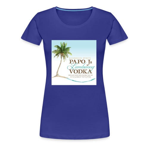 PapoJs Labels Logo - Women's Premium T-Shirt