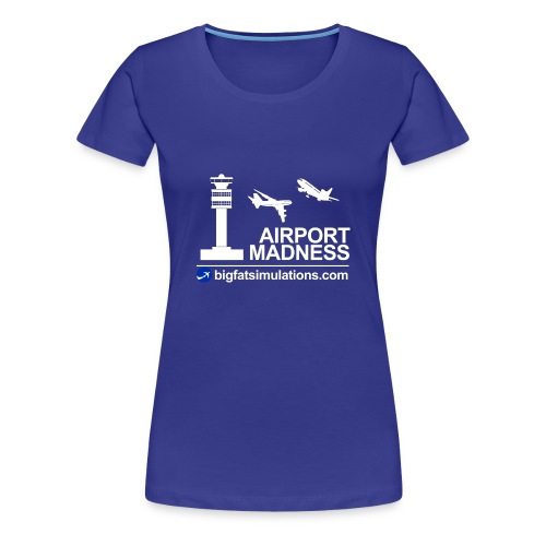 The Official Airport Madness Shirt! - Women's Premium T-Shirt