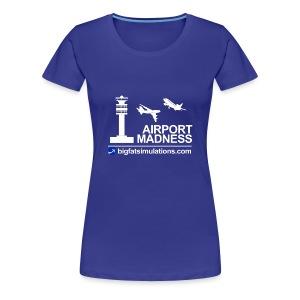 The Official Airport Madness Shirt! - Women's Premium T-Shirt