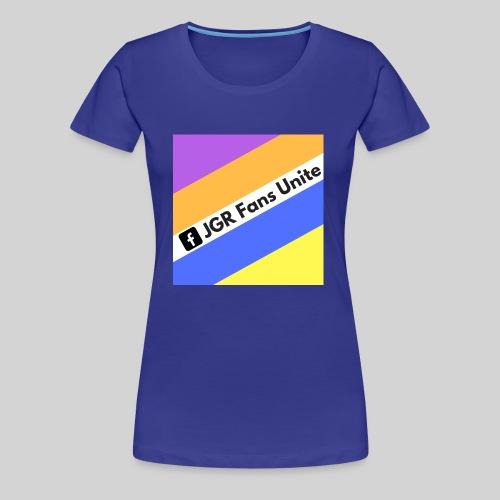 JGR Fans Unite Retro Logo - Women's Premium T-Shirt