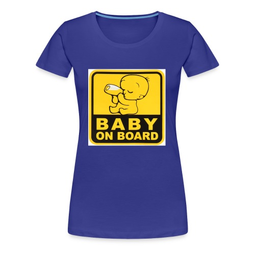 baby inside - Women's Premium T-Shirt