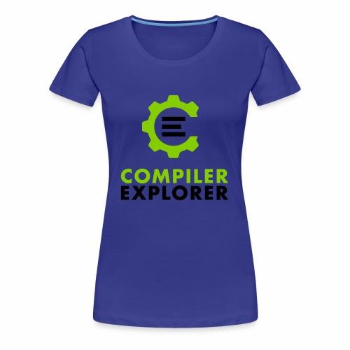 Logo and text - Women's Premium T-Shirt