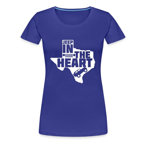 Jeep in the heart of Texas - Women's Premium T-Shirt