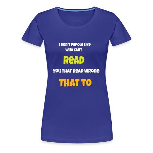 TRICKS - Women's Premium T-Shirt