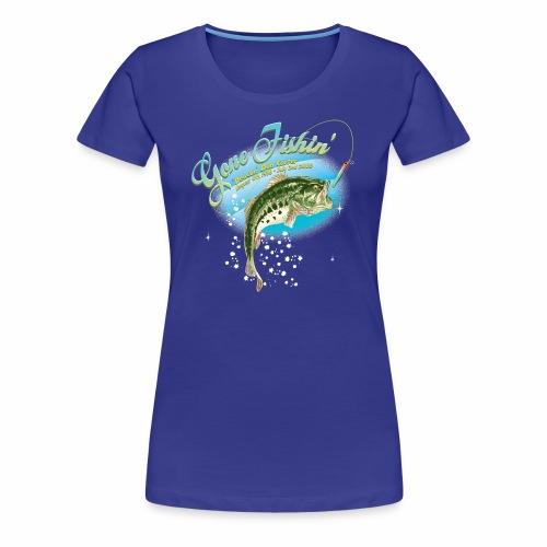 fishing base revise - Women's Premium T-Shirt