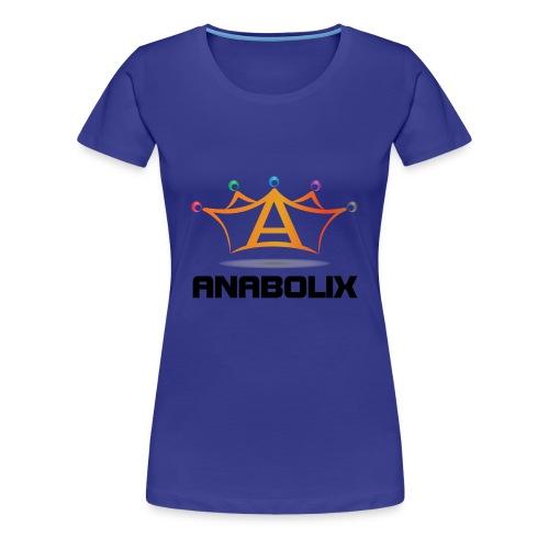 anabolix logo color - Women's Premium T-Shirt