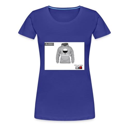 Winter Hoodie by DoseOfRide | Rs.1200/- - Women's Premium T-Shirt