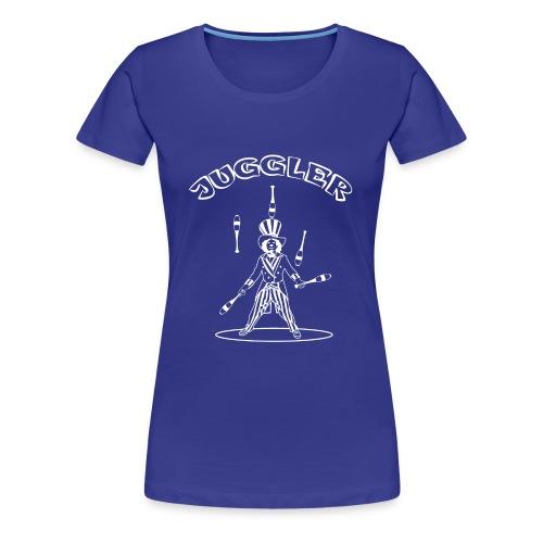 juggler - Women's Premium T-Shirt