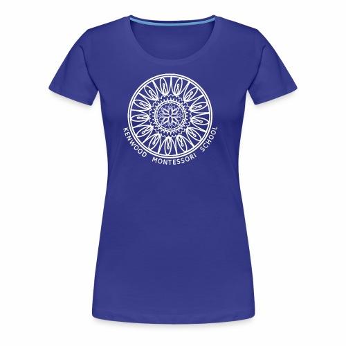 KenwoodLogo (White) - Women's Premium T-Shirt