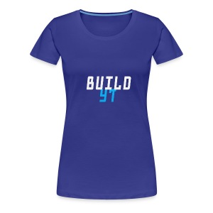 BuilderYt - Women's Premium T-Shirt