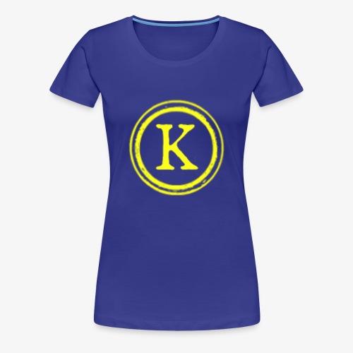 1000x1000 yellow logo - Women's Premium T-Shirt