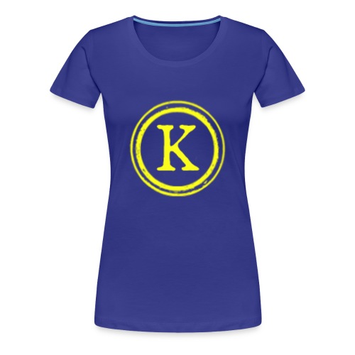 1000x1000 yellow logo - Women's Premium T-Shirt