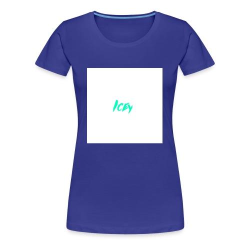Icey logo - Women's Premium T-Shirt