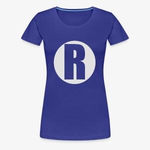 R white - Women's Premium T-Shirt
