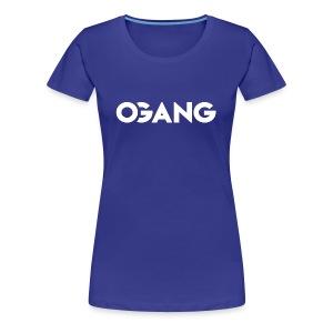 OGANG Merch - Women's Premium T-Shirt