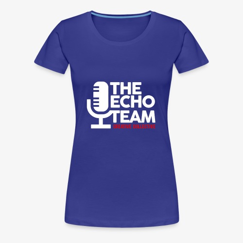 Echo Team Logo White Letters - Women's Premium T-Shirt