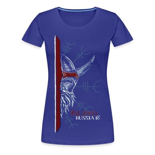 Icelandic Viking - Women's Premium T-Shirt