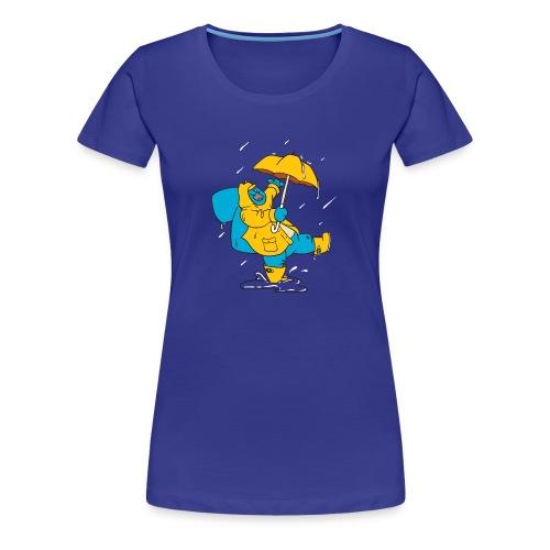 Noodles in the Rain - Women's Premium T-Shirt