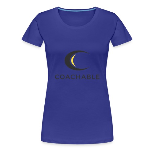 Coachable Kids - Women's Premium T-Shirt