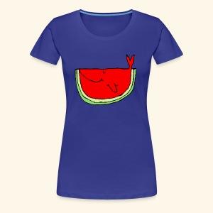 Whalemelon - Women's Premium T-Shirt