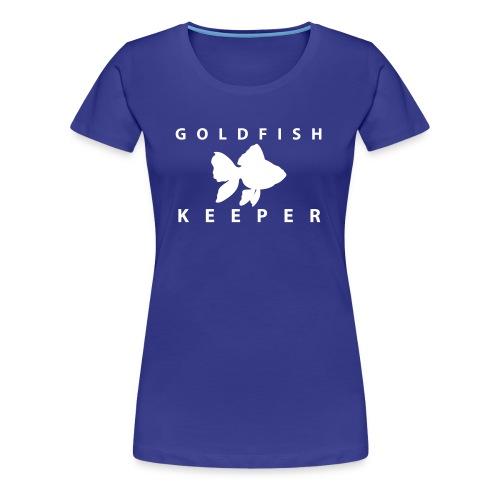 Goldfish Keeper (telescope) - Women's Premium T-Shirt