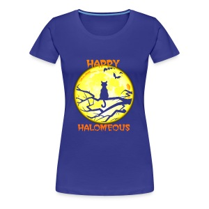 Happy Halloween Cats - Women's Premium T-Shirt