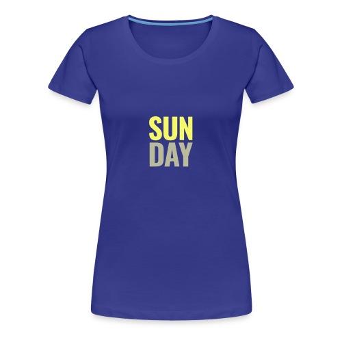 Sunday Days of the Week T-Shirt - Women's Premium T-Shirt