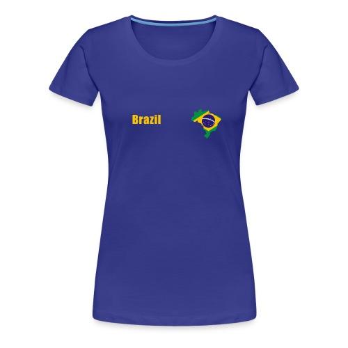 Brazil world cup T-Shirt - Women's Premium T-Shirt