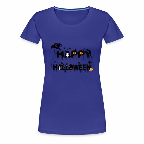 Happy Halloween T-shirt Halloween Costume Funny - Women's Premium T-Shirt