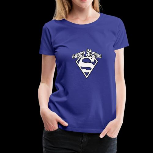 Super Stoned Funny Gift Idea for the family - Women's Premium T-Shirt