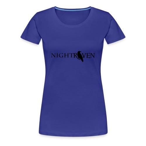 Night Raven Official Gear - Women's Premium T-Shirt