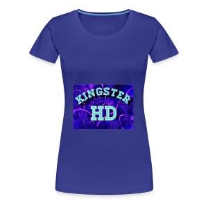 Kingsterhd poster t-shirt - Women's Premium T-Shirt