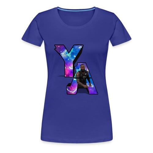 The Y/A Logo - Women's Premium T-Shirt