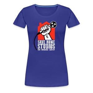 Save Home Studios In Music City - Women's Premium T-Shirt