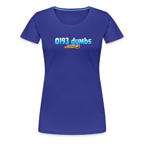 0193 dumbs Offical Shirt - Women's Premium T-Shirt