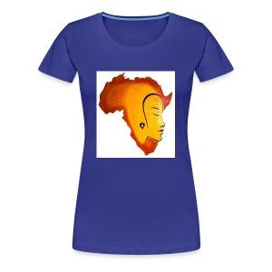 africa face - Women's Premium T-Shirt