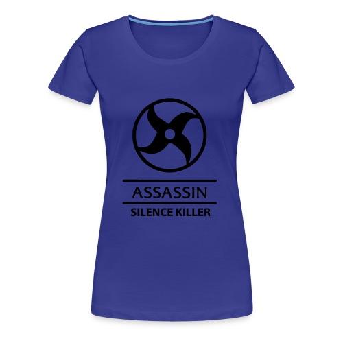 Assassin Black - Women's Premium T-Shirt