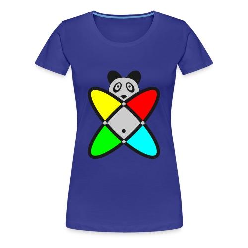 SCIENCE PANDA - Women's Premium T-Shirt