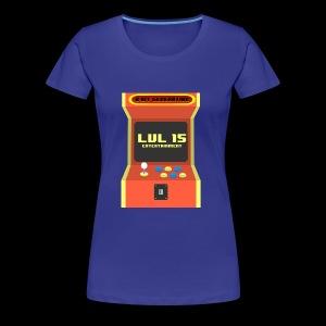LVL15 arcadelogo - Women's Premium T-Shirt