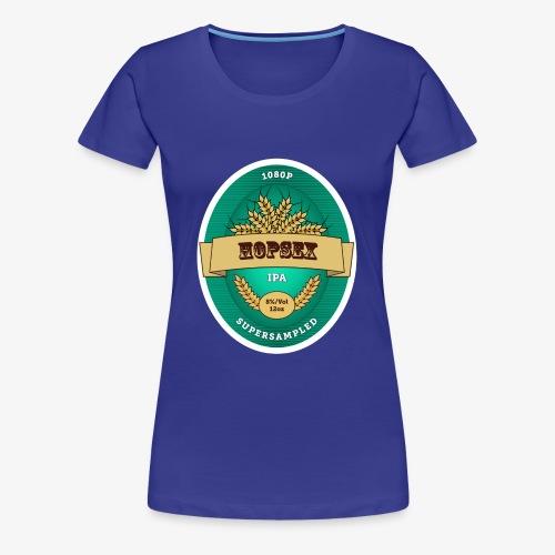 1080p Supersampled HOPSEX - Women's Premium T-Shirt