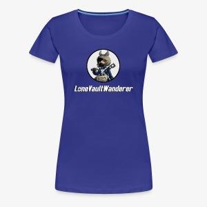 LoneVaultWanderer - Women's Premium T-Shirt