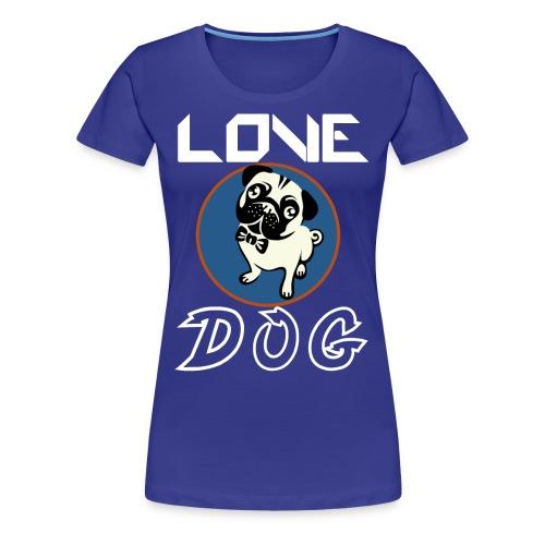 dog is love - Women's Premium T-Shirt