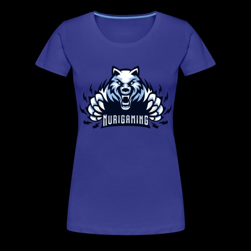 NuriGaming🐺 - Women's Premium T-Shirt