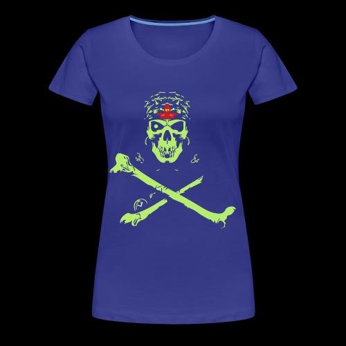 Halloween And Danger Design - Women's Premium T-Shirt