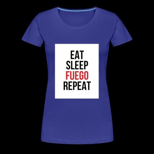 Workout - Women's Premium T-Shirt