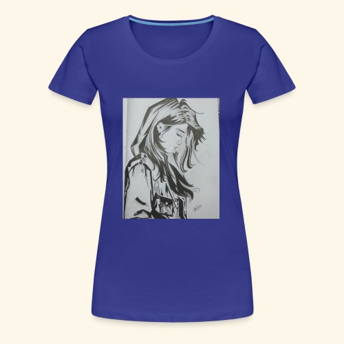pretty lady - Women's Premium T-Shirt